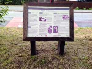 Visitor interpretation board
